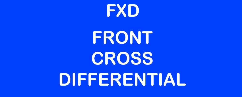 Front Cross Differential or FXD