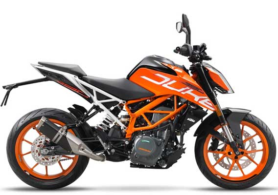 KTM 390 Duke (Courtesy: KTM)