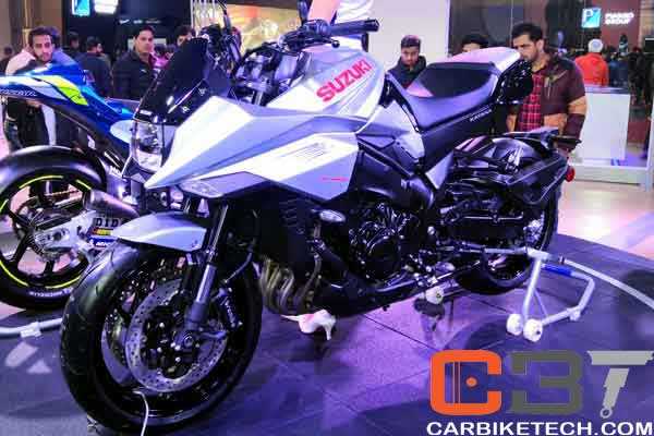 Suzuki Katana at Auto Expo 2020