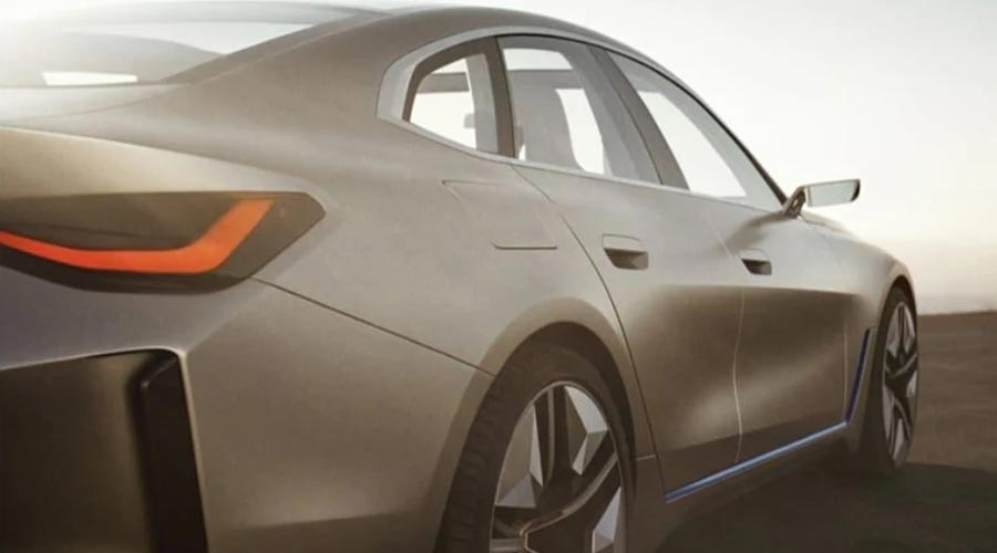 BMW Concept i4 Side View