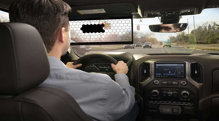 Bosch virtual visor cabin view
