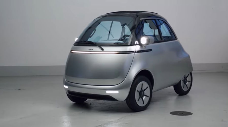 Microlino Front View
