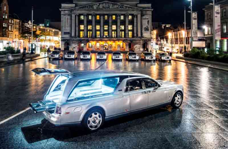 Luxury wagon for funeral transportation (Courtesy: funeralcare.co.uk)