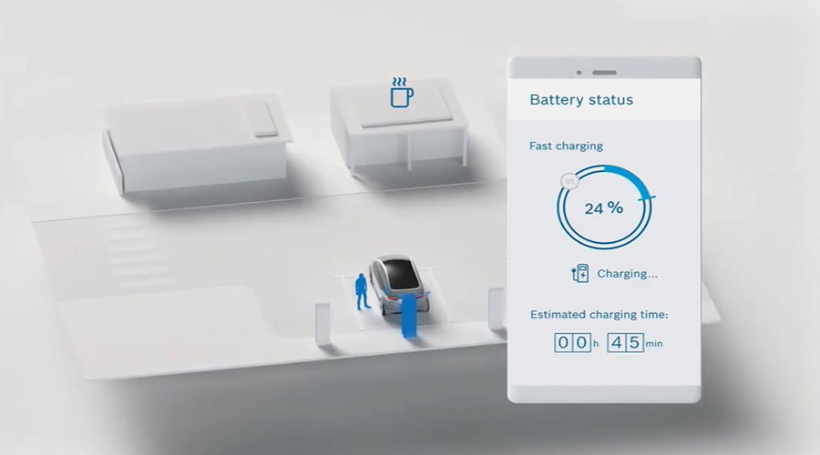 convenience charging by Bosch